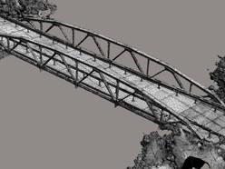 3Dフォト:近代土木遺産松室橋を公開!!