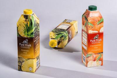 combidome juice packaging