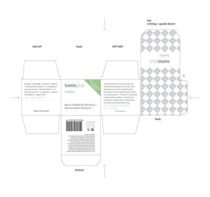 swissplus corporate design verpackung