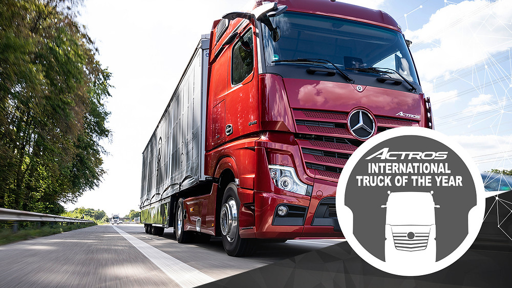 Mercedes-Benz Actros international truck of the year