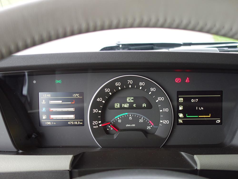 Volvo FH 500 I-Shift Dual Clutch Tacho