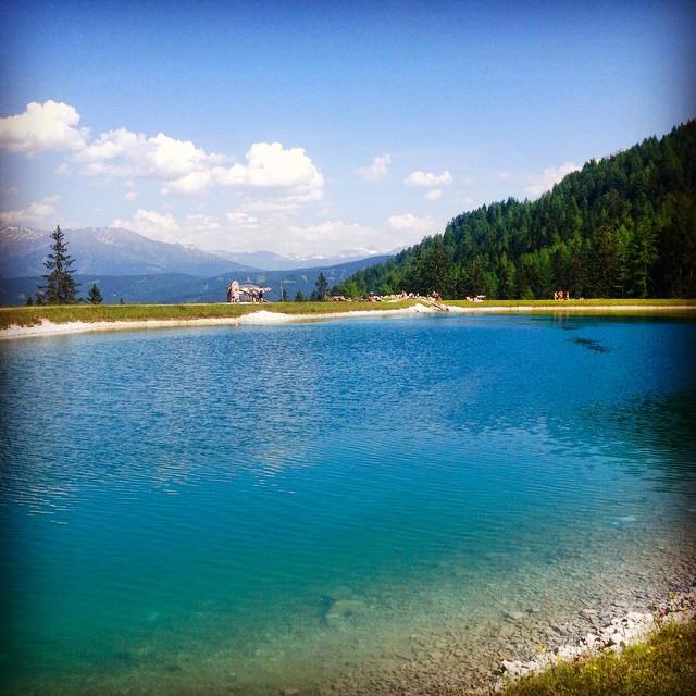 panorama lake schlick tirol