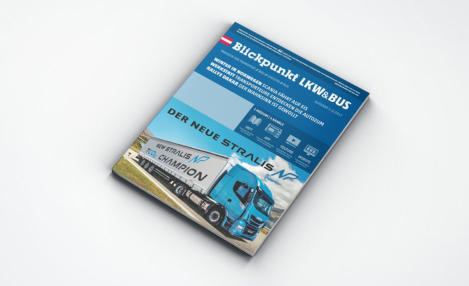 transport magazine design relaunch