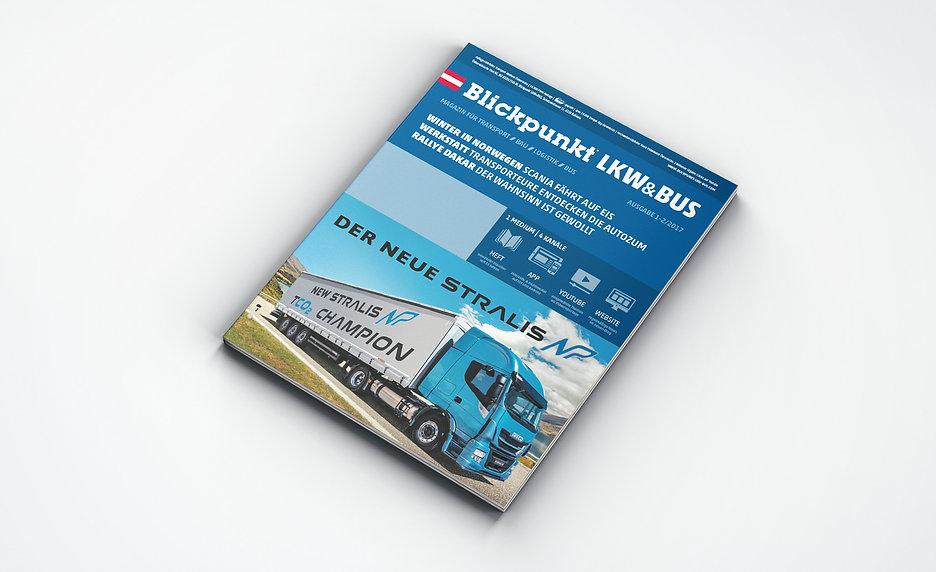 blickpunkt transport magazin mediengestaltung relaunch