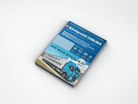Relaunch of Blickpunkt LKW+BUS