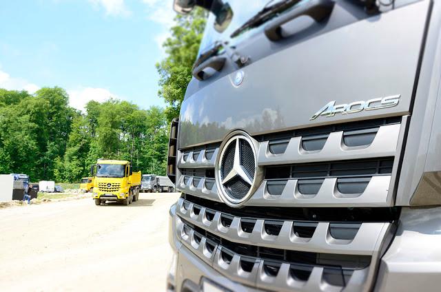 truck miniature effect
