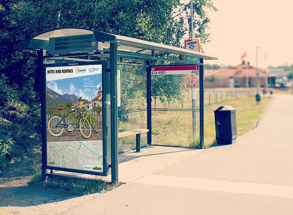 die boerse poster hotel bike