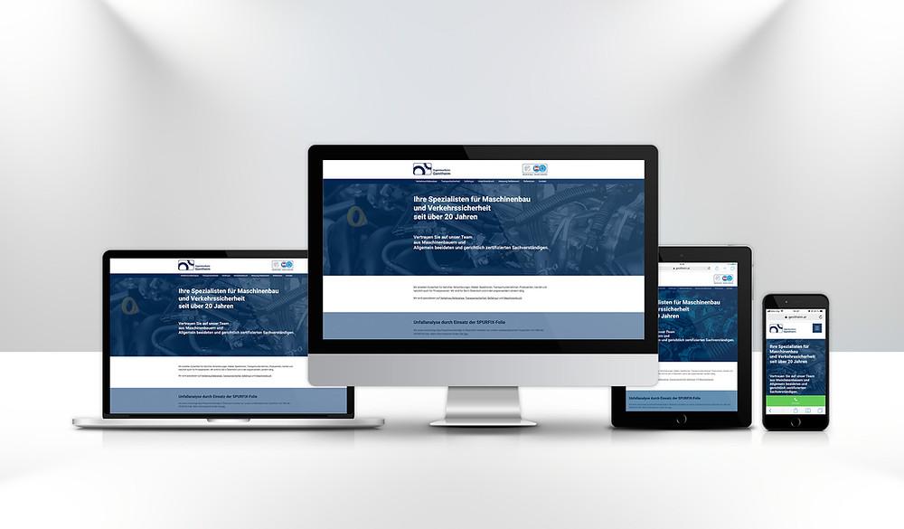 Ingenieurbüro Genitheim Wix Website