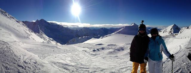 skiing tirol