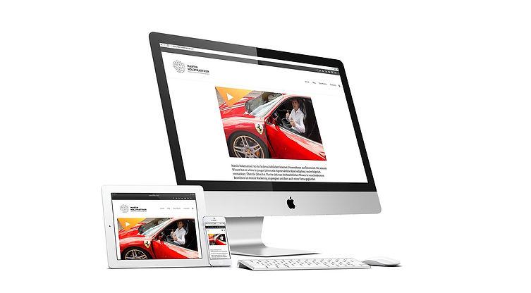 martin holztrattner responsive website design