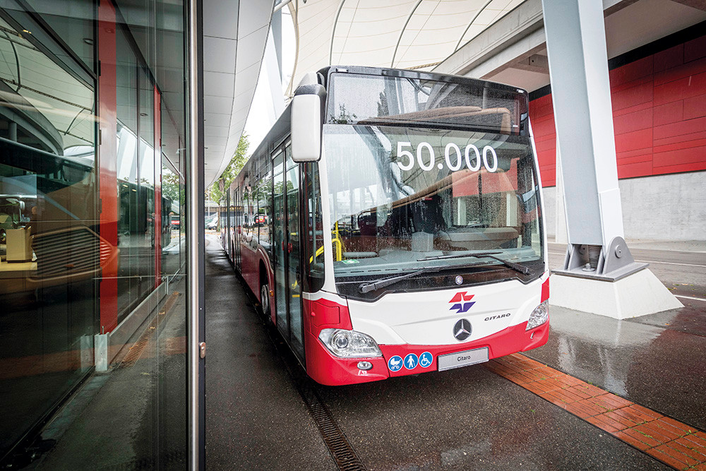 50.000ster Citaro für Wiener Linien
