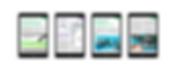 dentist app magazine layout design