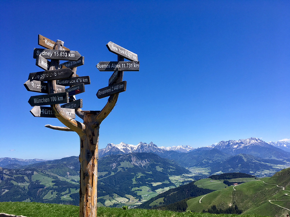Tirol hiking