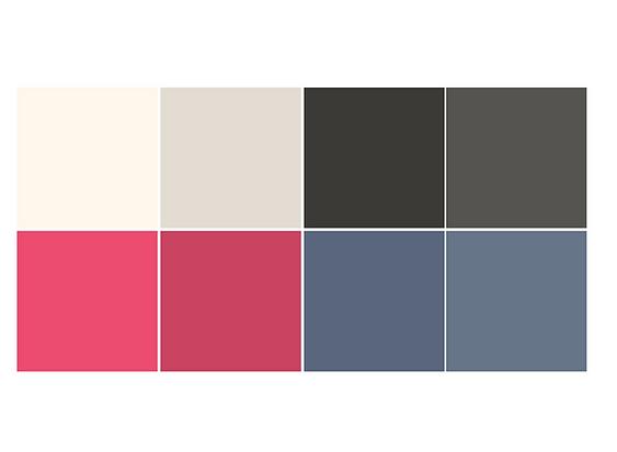 june randall dressmaker corporate design colours
