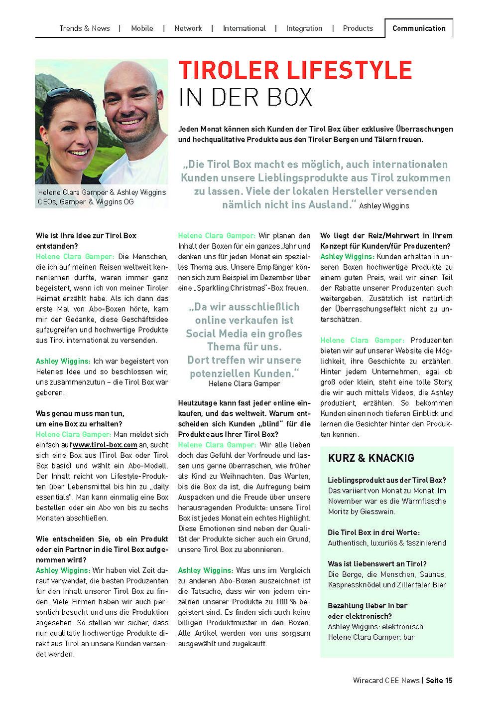 interview wirecard magazine