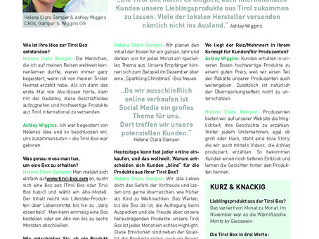 Interview with the Wirecard magazine