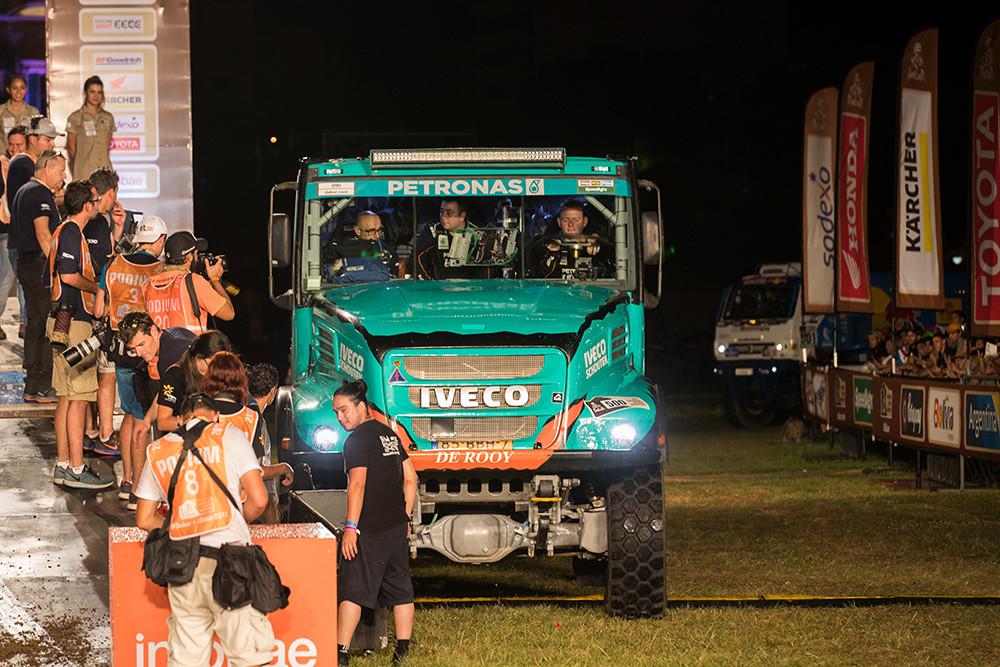 Rallye Dakar 2017 Iveco