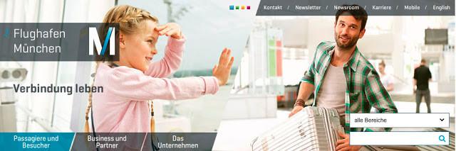 munich airport website