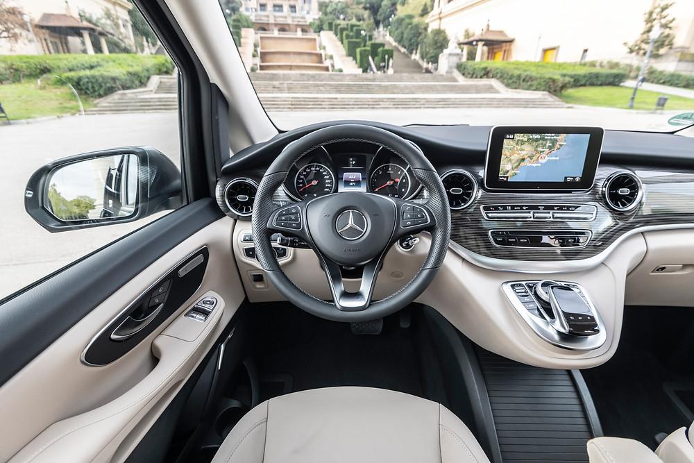 Mercedes-Benz V 220 Innenraum