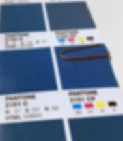 Pantone meeresblau