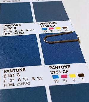 Pantone ocean blue