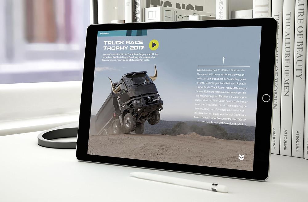 3d text effect tablet