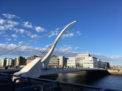 Samuel Becket Bridge Dublin