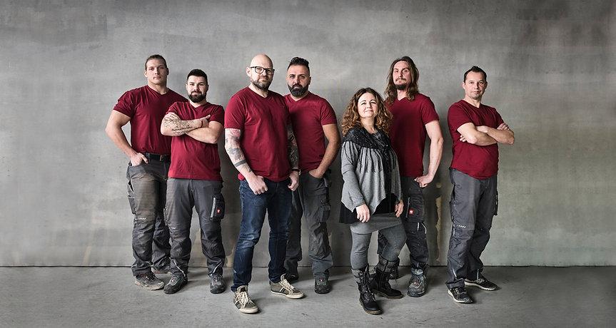 plumber team photo