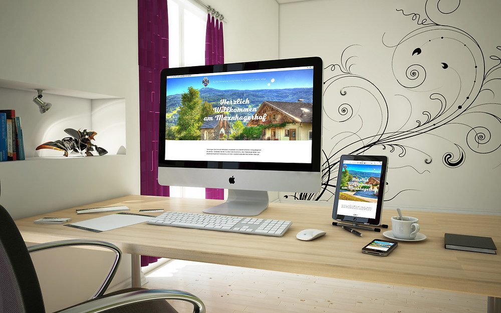 Urlaub Maxnhager Wix Website