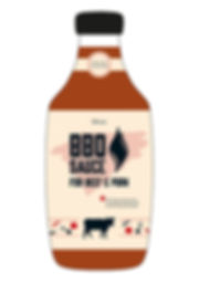 brand design packaging design bbq sauce