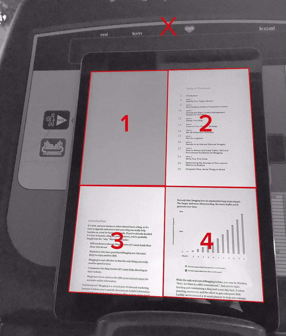 content marketing e-book print export