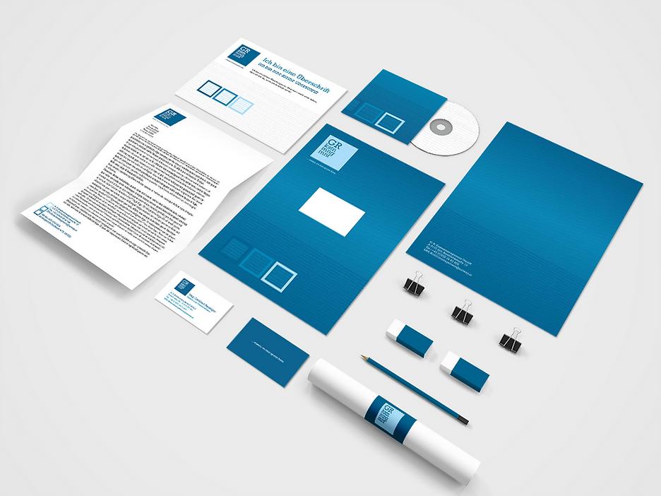 gr kostenmanagement corporate design