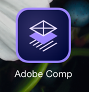 The Adobe Comp App - a self-experiment