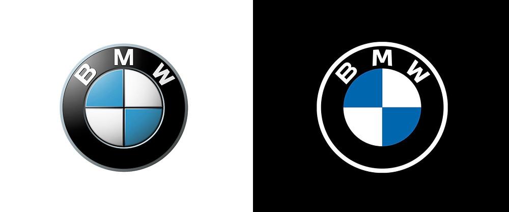 BMW logo design