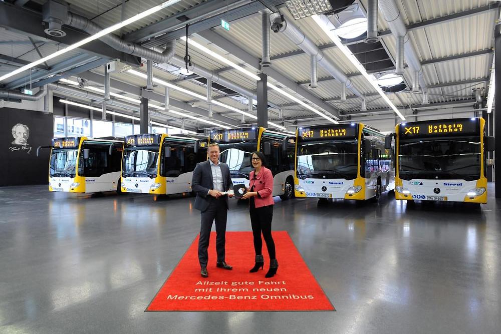 Mercedes-Benz Citaro Schnellbus Linie X17