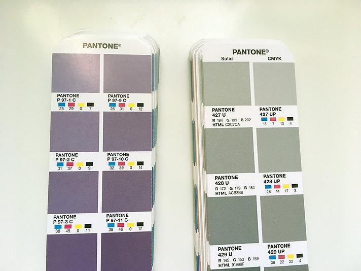Plus Series und Color Bridge Pantone Farbfächer