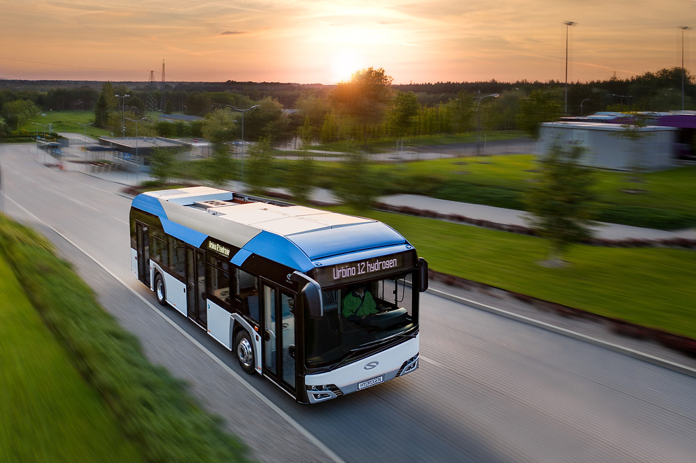 Solaris Urbino Hydrogen Post
