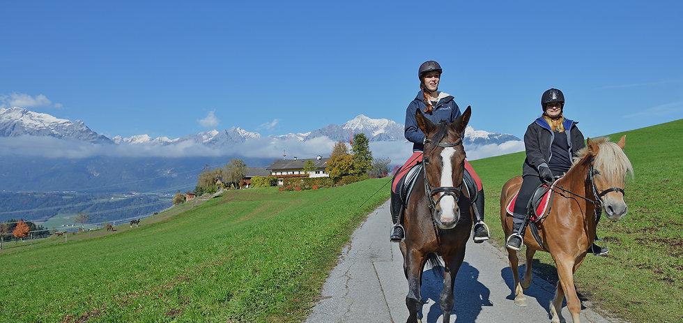 Pferde reiten Weerberg
