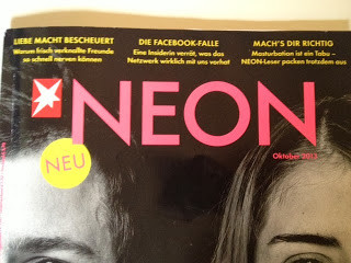 The new editorial design of NEON