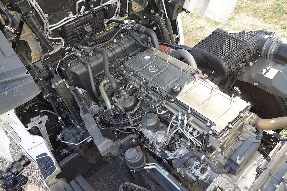 Mercedes-Benz Actros 1846 Motor
