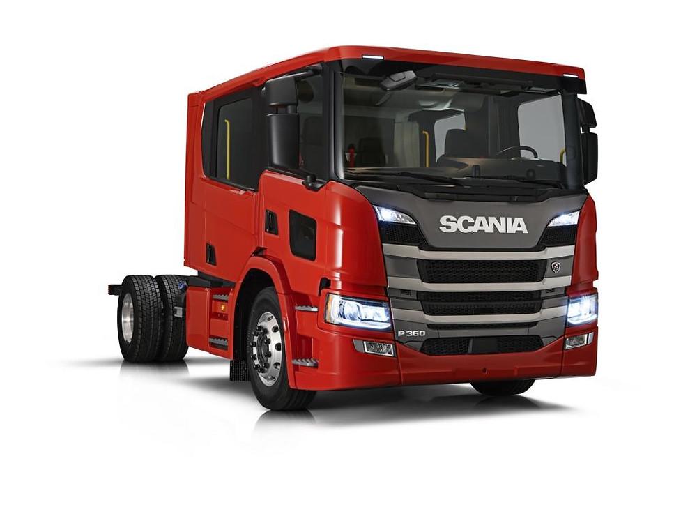 Scania Mannschaftsfahrerhaus