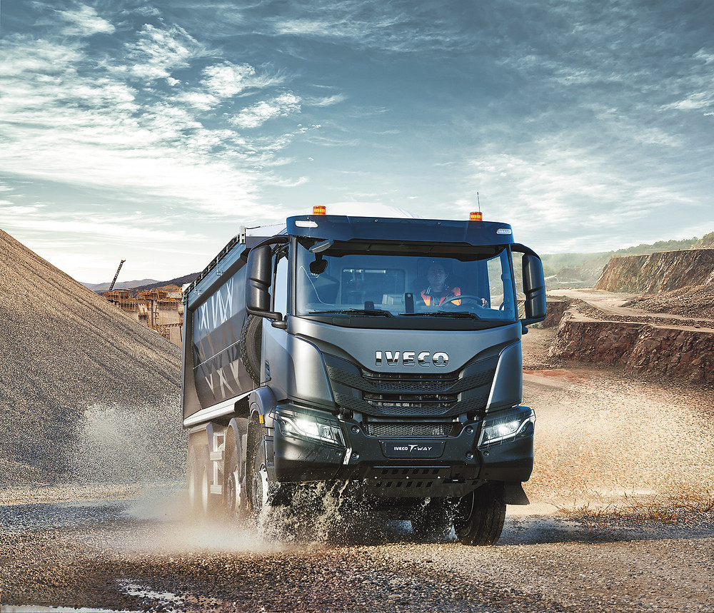 Iveco T-WAY Baustelle
