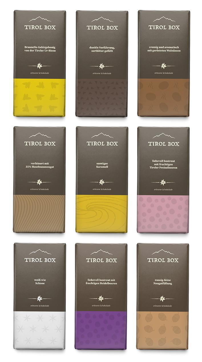 Tirol Box Schokoladen