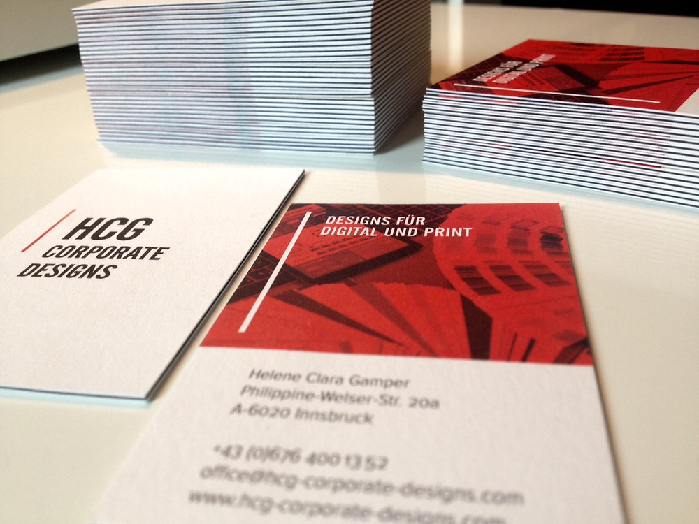 business card corporate design