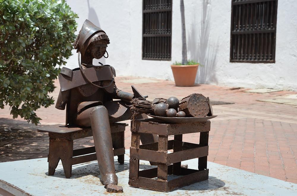 art in Cartagena