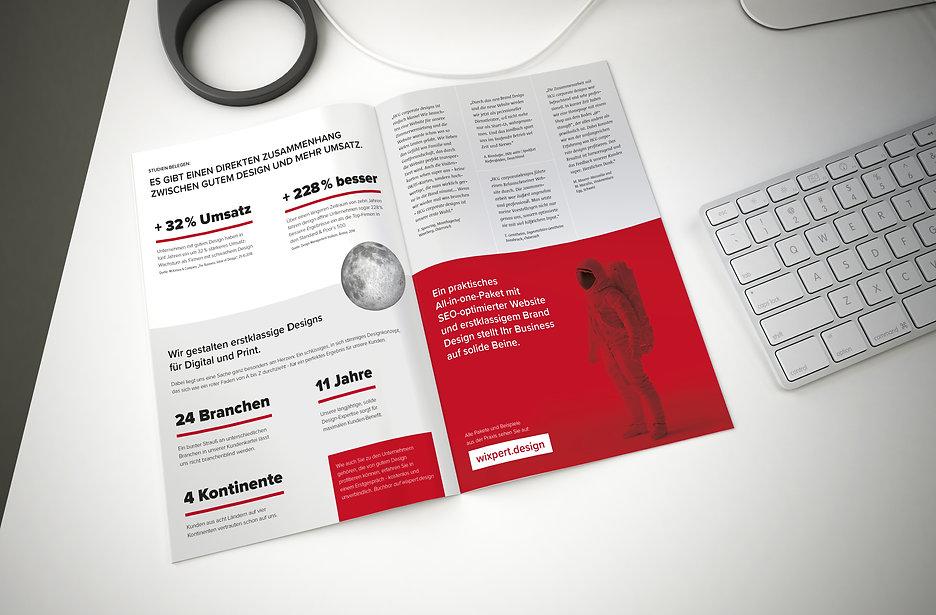 Broschüre Design