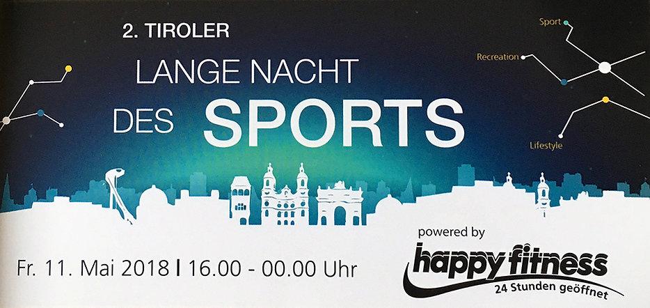 Tiroler Lange Nacht des Sports