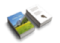 tirol box business card design