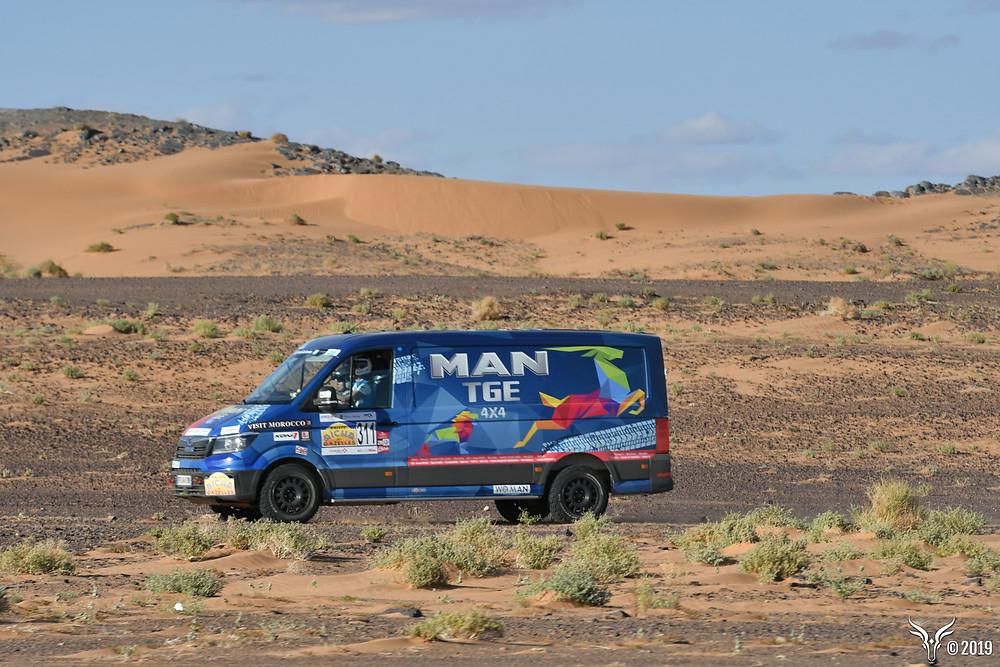 MAN TGE Rallye