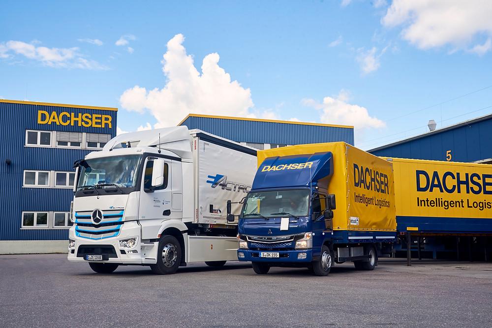e-Actros für Dachser Logistik